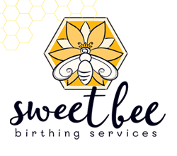 Sweet Bee Birthing Services Logo